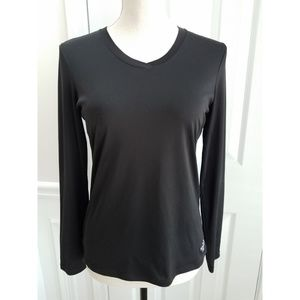 The North Face Long Sleeve Pullover Black Top